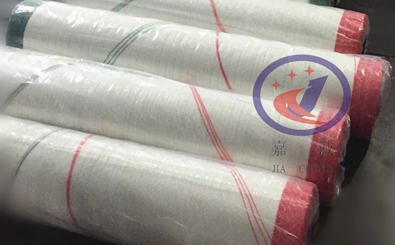 Customer-designated color matching bale netwrap for foreign trade